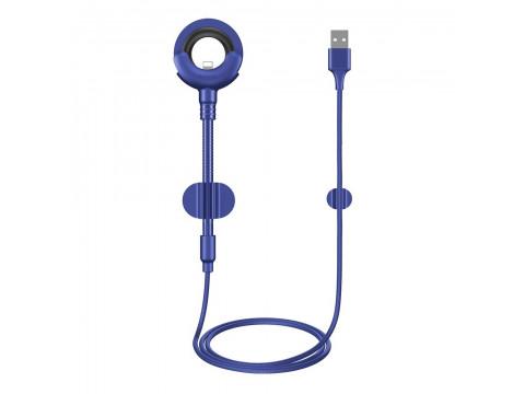 BASEUS CABLE O-TYPE  (8-pin | 0,8 m) BLUE