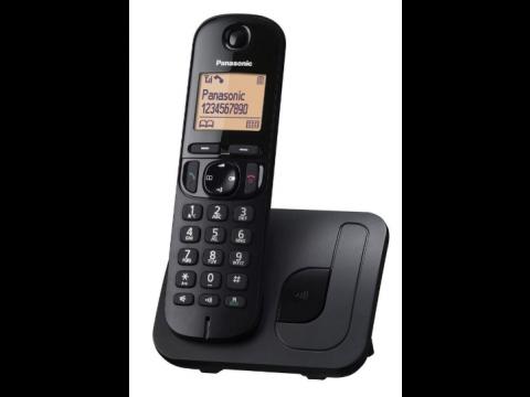 PANASONIC KX TG C 210 FIKSNI BEŽIČNI TELEFON CRNI