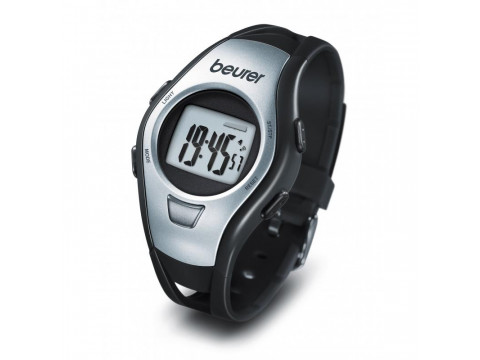 BEURER PM 15 HEARTH RATE MONITOR WATCH SILVER
