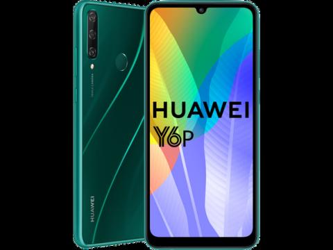 HUAWEI Y6p 3GB 64GB DUAL GREEN