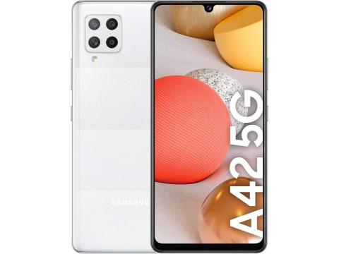SAMSUNG GALAXY A42 128GB 4GB 5G DUAL PRISM DOT WHITE