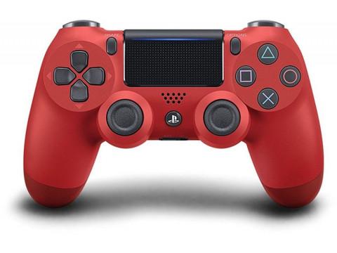 SONY PS4 GAMEPAD KONTROLER DUALSHOCK V2 WIFI RED