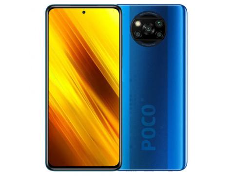 XIAOMI POCO X3 NFC 6GB 128GB DUAL BLUE (KORIŠTEN, ODLIČNO STANJE)