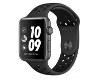 APPLE WATCH SERIES SE GPS 44MM SPACE GREY ALUMINIUM CASE WITH BLACK SPORT BAND