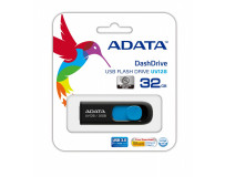 ADATA DASHDRIVE UV128 32GB USB3.0 Black-Blue 40MB / 25MB