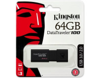 KINGSTON USB 3.0 FLASH DRIVE DT-100 G3 64 GB