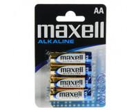 MAXELL ALKALNE BATERIJE 4 x LR6 (AA) 1,5 V, mignon, blister
