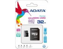 ADATA PREMIER 32GB MEMORIJSKA KARTICA UHS-1/CLASS10 + ADAPTER