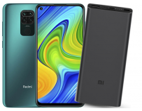 XIAOMI REDMI NOTE 9 4GB 128GB DUAL FOREST GREEN + 10000mAh Mi 18W POWERBANK 3 BLACK