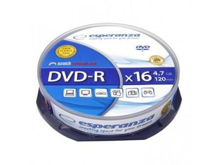 ESPERANZA DVD-R 4,7GB 16X 10/1