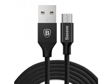 BASEUS CABLE YIVEN (MICRO-USB | 1,5M) 2A BLACK