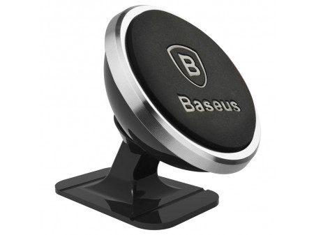 BASEUS CAR MOUNT 360 MAGNETIC SILVER
