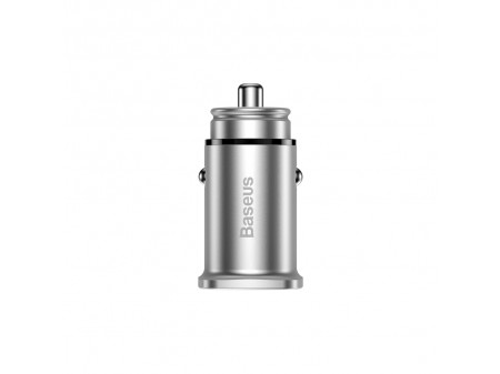 BASEUS CAR CHARGER PPS MULTI CHARGING SILVER