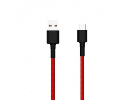 XIAOMI MI TYPE-C BRAIDED CABLE RED (100CM)