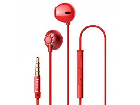 BASEUS WIRE EARPHONES ENOCK H06 RED