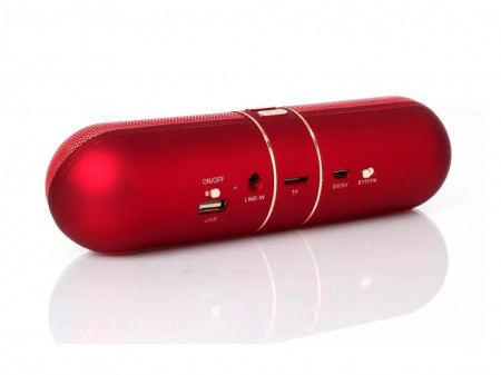 AITISIN ATS-A910 BLUETOOTH SPEAKER RED