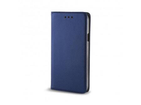 TORBICA PREKLOPNA KOŽNA SMART MAGNET ZA IPHONE/IPHONE 12 PRO NAVY BLUE
