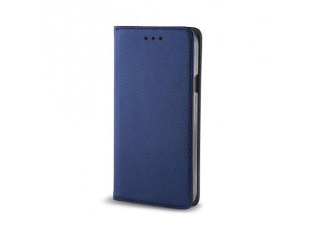 TORBICA PREKLOPNA KOŽNA SMART MAGNET ZA IPHONE 11 BLUE