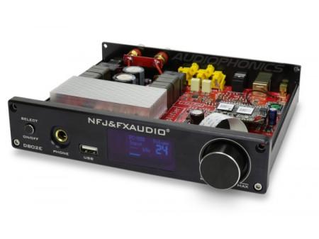 FX-AUDIO D802E DIGITALNO POJAČALO STA326 WIFI BLUETOOTH 5.0 MULTIROOM 2X80W/4Ohm SILVER