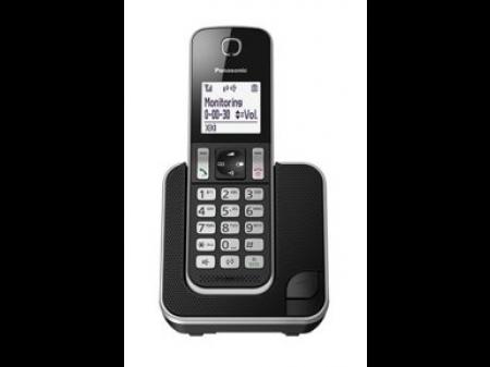 PANASONIC KX-TGD 310 FIKSNI BEŽIČNI TELEFON CRNI