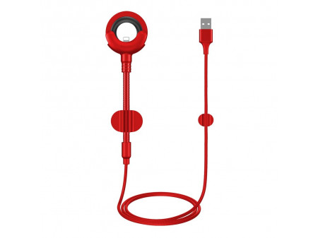 BASEUS CABLE O-TYPE  (8-pin | 0,8 m) RED