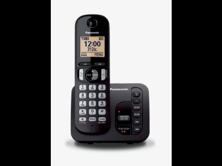 PANASONIC KX-TG C 220 FIKSNI BEŽIČNI TELEFON CRNI