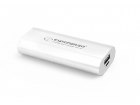 ESPERANZA POWER BANK EMP105W HADRON 4400mAh WHITE