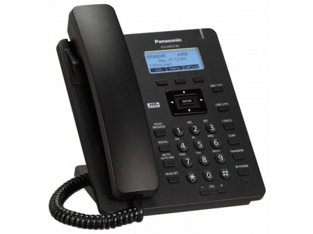 PANASONIC IP TELEFON KX-HDV 130 CRNI