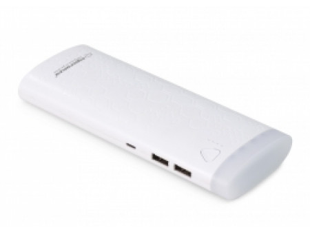 ESPERANZA POWER BANK EMP114W FERMION 10000mAh WHITE
