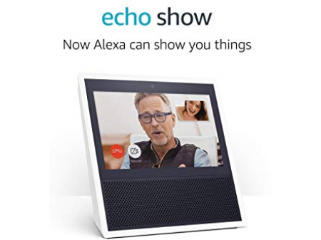 AMAZON ECHO SHOW WHITE SMART HOME HUB WITH DISPLAY