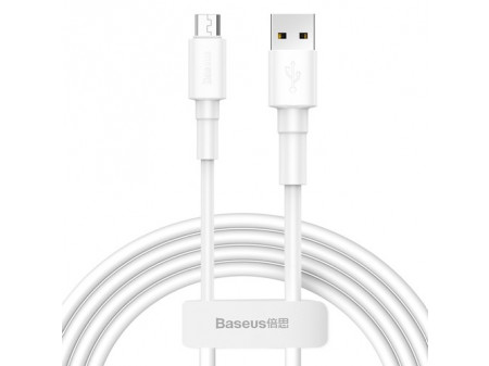 BASEUS CABLE MINI (MICRO | 1M) 2.4A WHITE