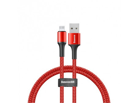BASEUS KABEL HALO (8-PIN , 0,5M) RED 2,4A0