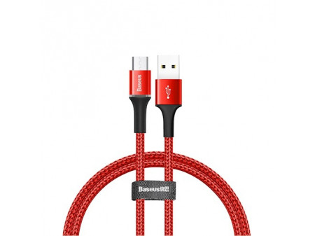 BASEUS KABEL HALO (MICRO , 0,5M) RED 3A