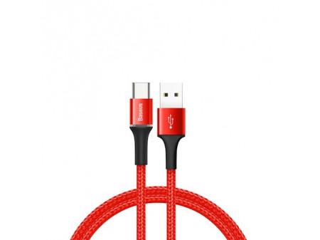 BASEUS KABEL HALO (typ-C, 2 M) RED 2A