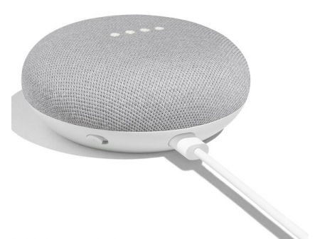 GOOGLE HOME MINI CHALK SMART SPEAKER ASSISTANT