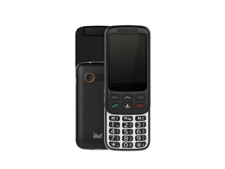 MEANIT F60  SLIDE DUAL SIM MOBILNI TELEFON CRNI