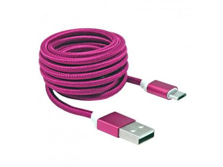 KABEL SBOX USB->MICRO USB M/M 1,5M USB-10315P, ROZA