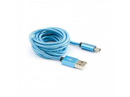 KABEL SBOX USB -> USB TYPE C M/M 1,5M PLAVI