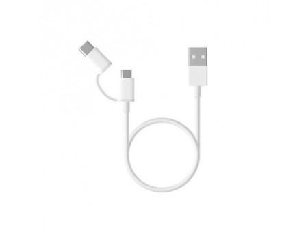 XIAOMI MI 2-in-1 MICRO USB TO TYPE-C CABLE (30CM)