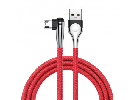 BASEUS ELBOW MVP KABEL (MICRO , 1M) RED 2A