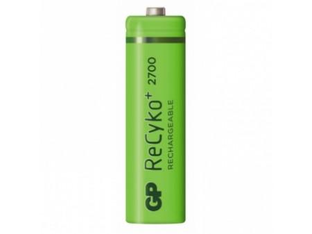 GP PUNJIVE BATERIJE ReCyko+ 2700, 1 x R06 2600 mAh green (NAPUNJENE) Ni-Mh