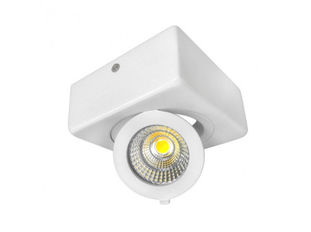 OPTONICA LED DOWNLIGHT COB 12W KVADRATNI 6000K HLADNA BIJELA