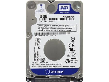 HDD 2,5 WD BLUE WD5000LPCX 500GB SATA III