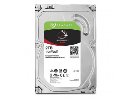 HDD SEAGATE IRONWOLF NAS ST2000VN004 2TB SATA III 64MB