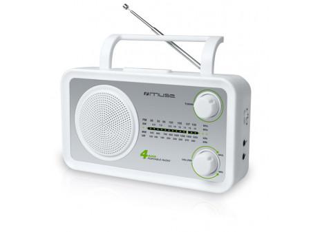 MUSE; PRIJENOSNI RADIO M-05 SW BIJELI
