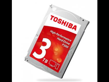TOSHIBA P300 3.5'' 3 TB SERIAL ATA III
