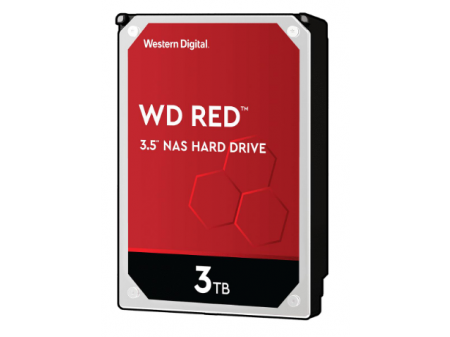 "WD RED WD30EFAX 3TB 3.5"" 256MB SATA 5400RPM"