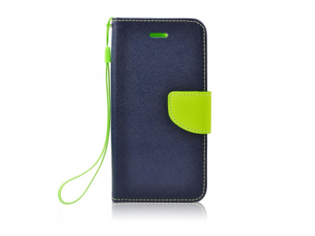 TORBICA PREKLOPNA FANCY BOOK ZA LG G7 THINQ NAVY-LIME