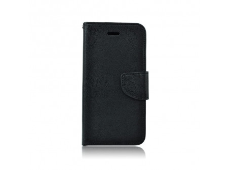 TORBICA PREKLOPNA KOŽNA FANCY BOOK ZA IPHONE 6/6S BLACK