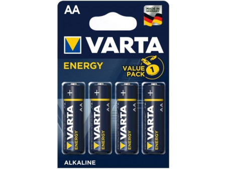 VARTA ENERGY ALKALNA BATERIJA 4 x LR6  (AA), 1.5V BLISTER